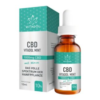 Vitadol CBD Öl 10 Prozent (Mint)